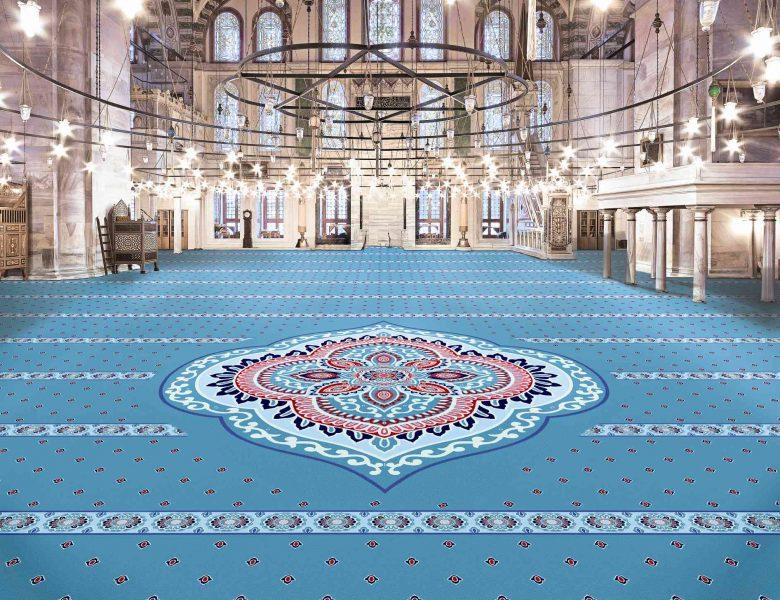 Yün Cami Halısı Desenleri
